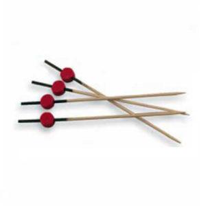 451112-14235-garcia-de-pou-brocheta-rojo-y-negro-12cm